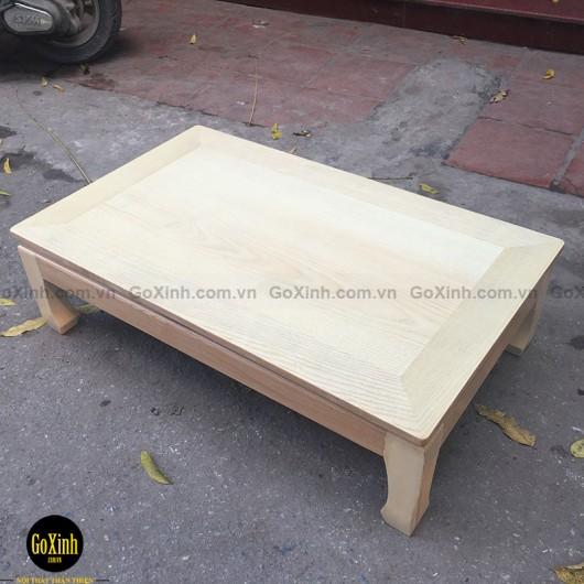 Bàn Nhật gỗ sồi dài 90cm