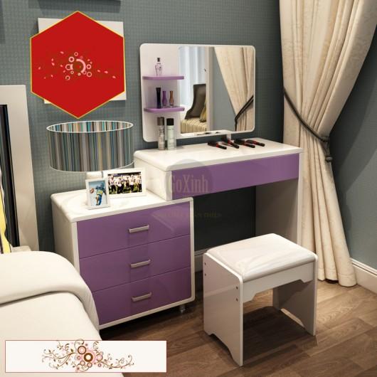 Bàn Trang Điểm Baleiya màu violet