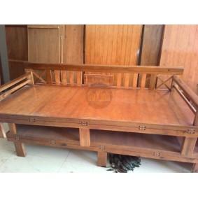 Ghế Giường gỗ Quế 1m2